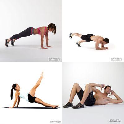 Mai's workout