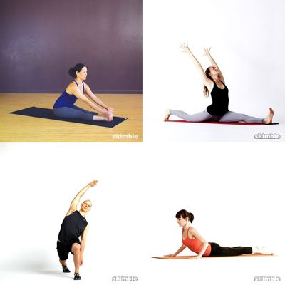 stretches/yoga/stress relief