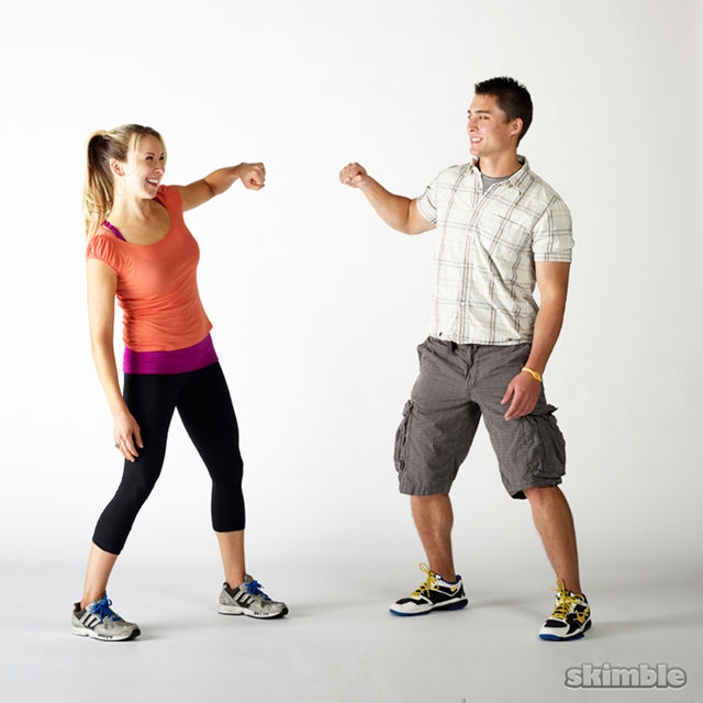 How to do: Fist Bumps - Step 1