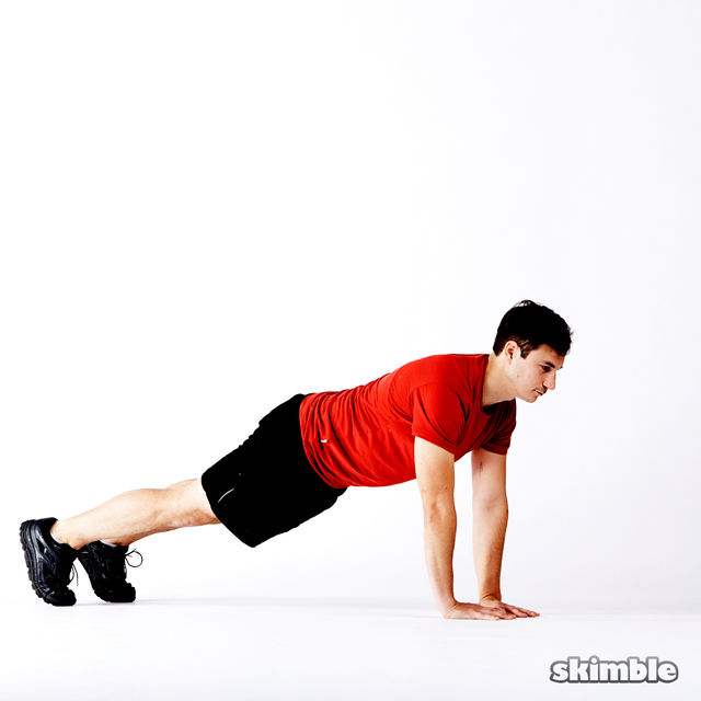 How to do: 5 Way Push-Ups - Step 3