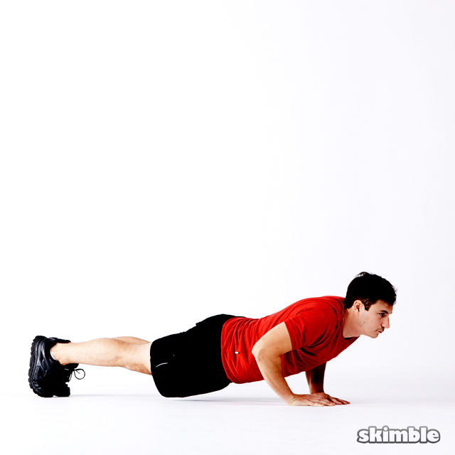 How to do: 5 Way Push-Ups - Step 4