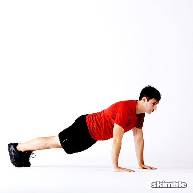 How to do: 5 Way Push-Ups - Step 7