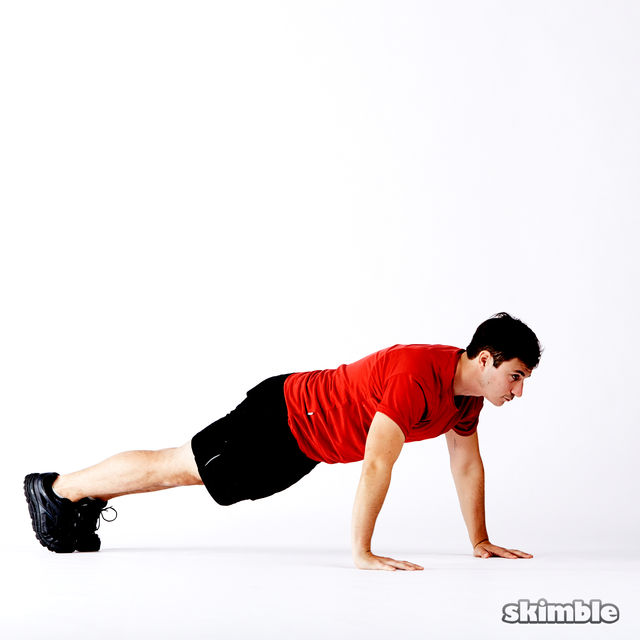How to do: 5 Way Push-Ups - Step 9