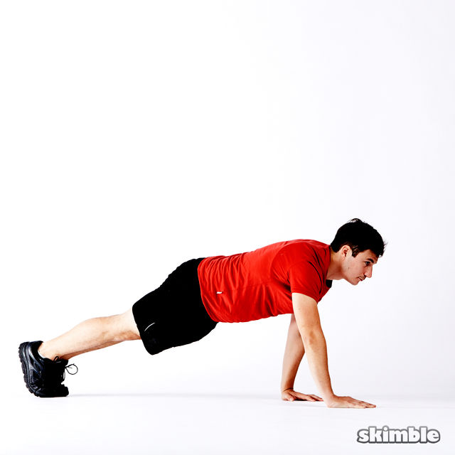 How to do: 5 Way Push-Ups - Step 10
