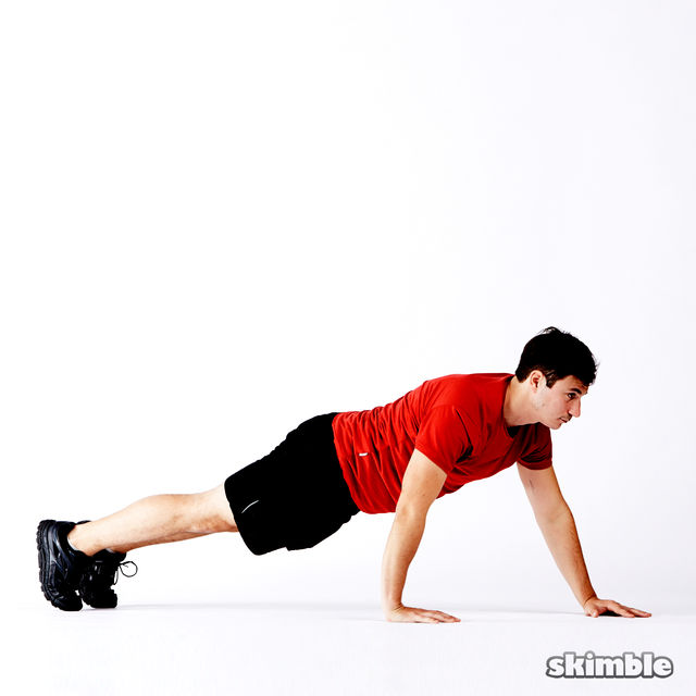 How to do: 5 Way Push-Ups - Step 13