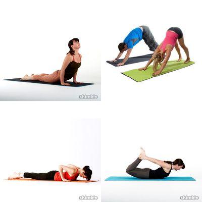 yoga stetch & back