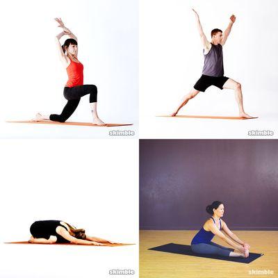 alongamentos e Yoga