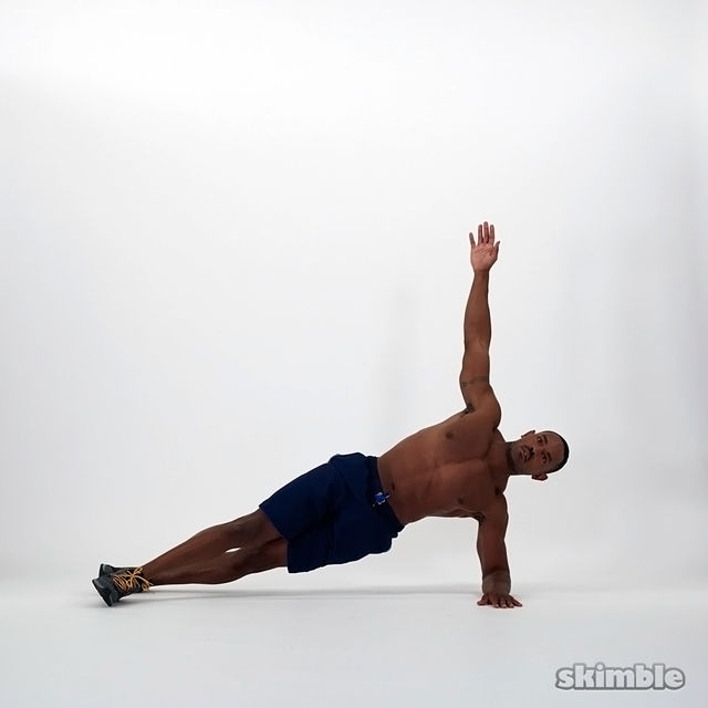 How to do: Half Side Planks - Step 2
