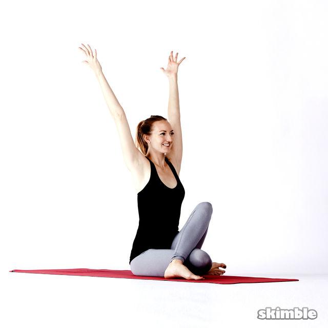 How to do: Matsyendra's Twist - Step 5