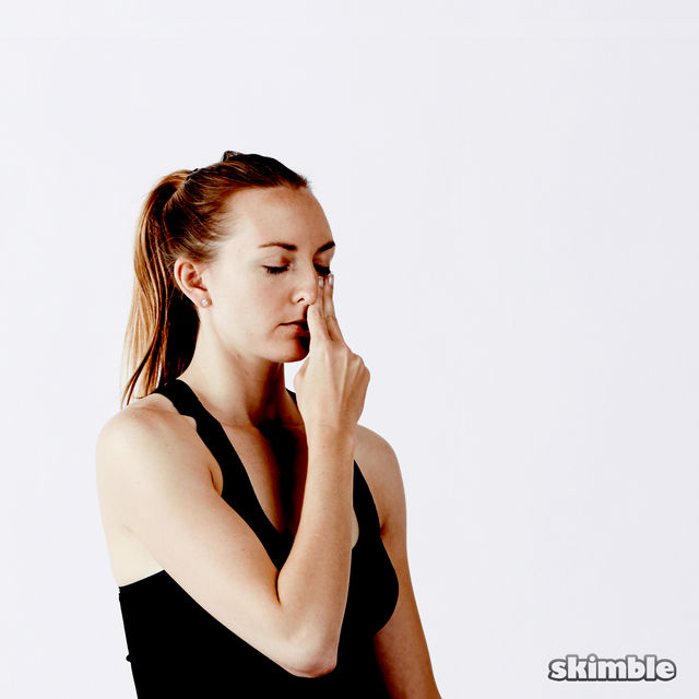 How to do: Alternate Nostril Breathing - Step 5