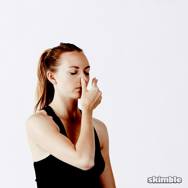 How to do: Alternate Nostril Breathing - Step 7