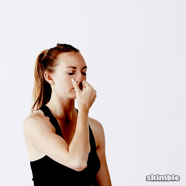 How to do: Alternate Nostril Breathing - Step 9