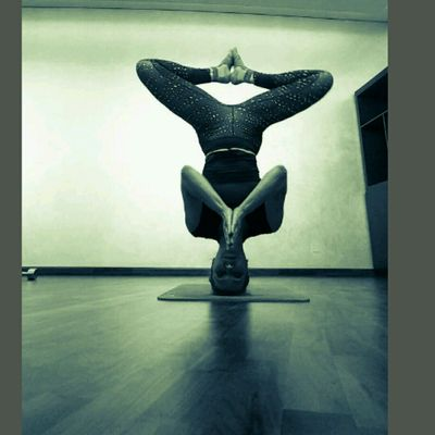 HEADSTAND Variations ♢Advanced Blind Yogi Balance Test-♢ ☆HS