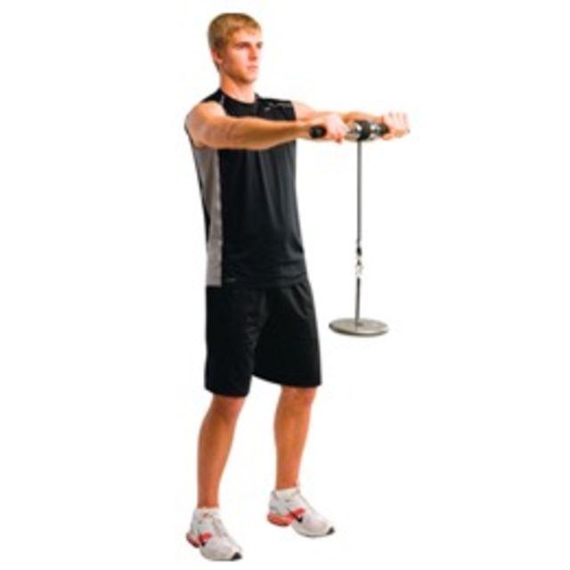 How to do: Wrist Roller - Step 1