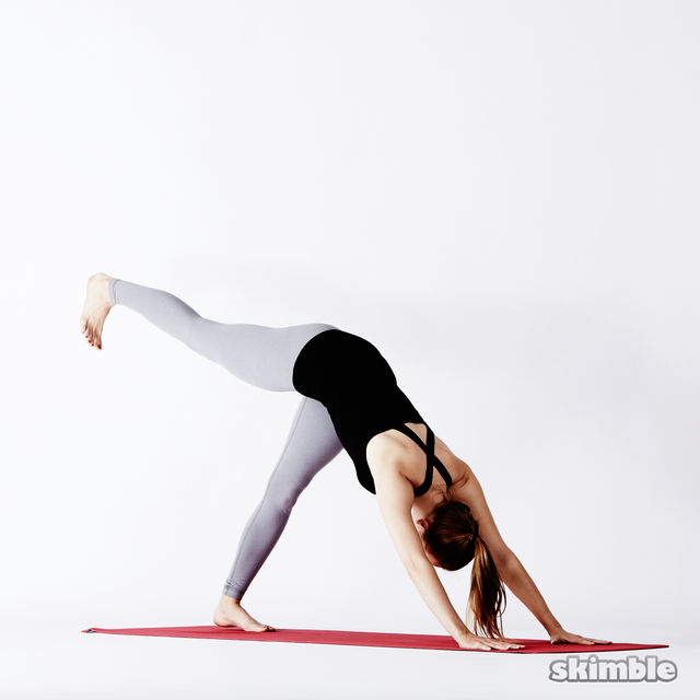 How to do: Right Split - Step 2