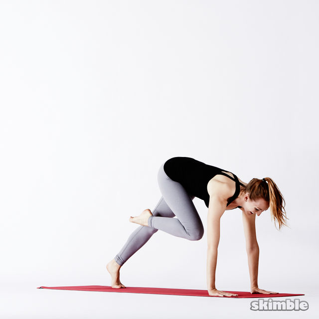 How to do: Right Split - Step 3