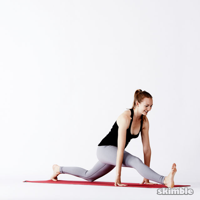 How to do: Right Split - Step 5