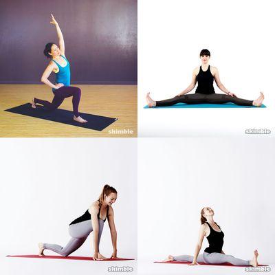 treinos de flexibilidade