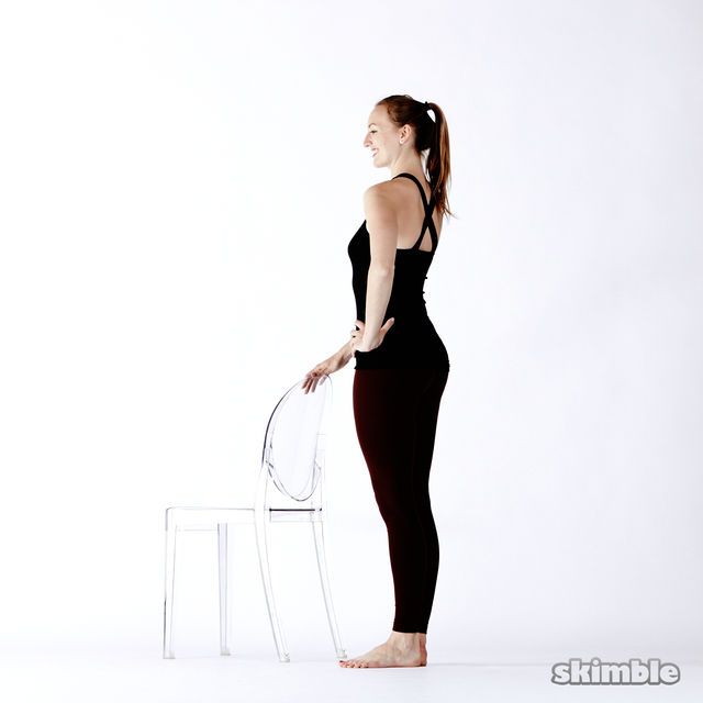 How to do: Standing Seat Work - Step 1