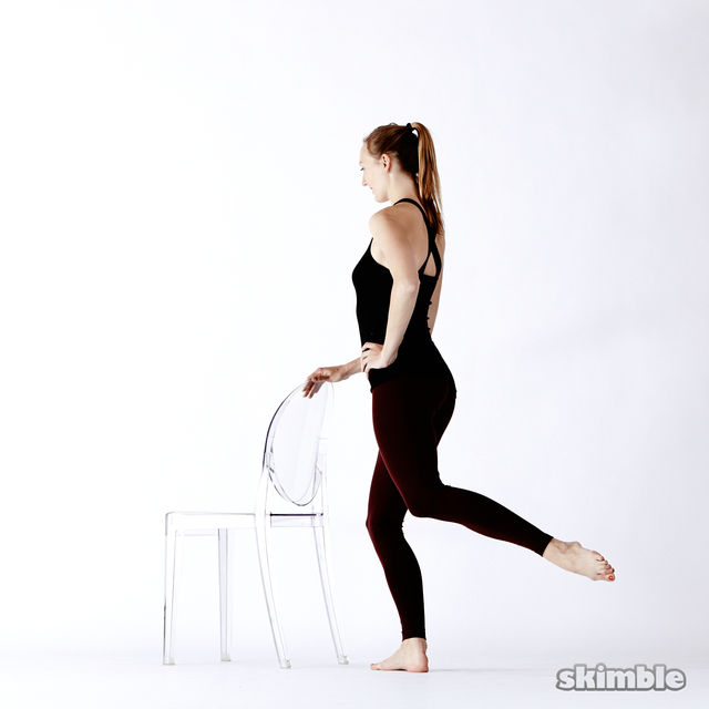 How to do: Standing Seat Work - Step 3