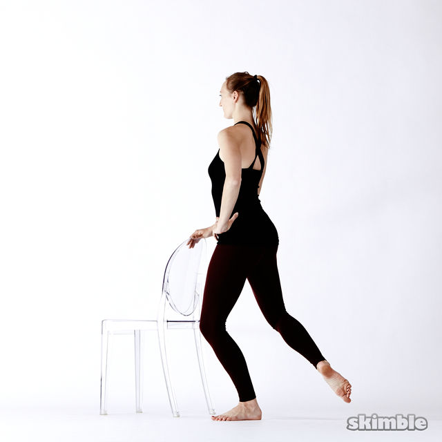 How to do: Standing Seat Work - Step 10
