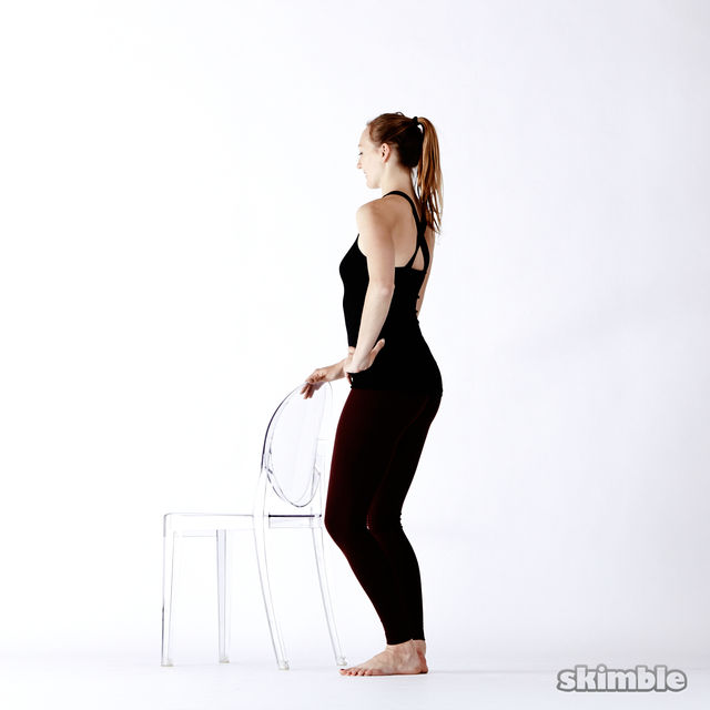 How to do: Standing Seat Work - Step 12