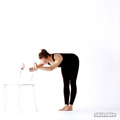 Fold Over T Arabesque