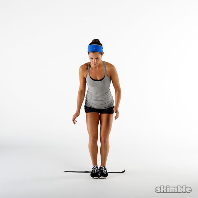 How to do: Forward Backward Hops - Step 3