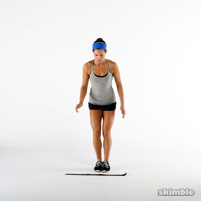 How to do: Forward Backward Hops - Step 1