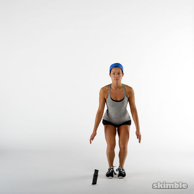 How to do: Side to Side Hops - Step 3