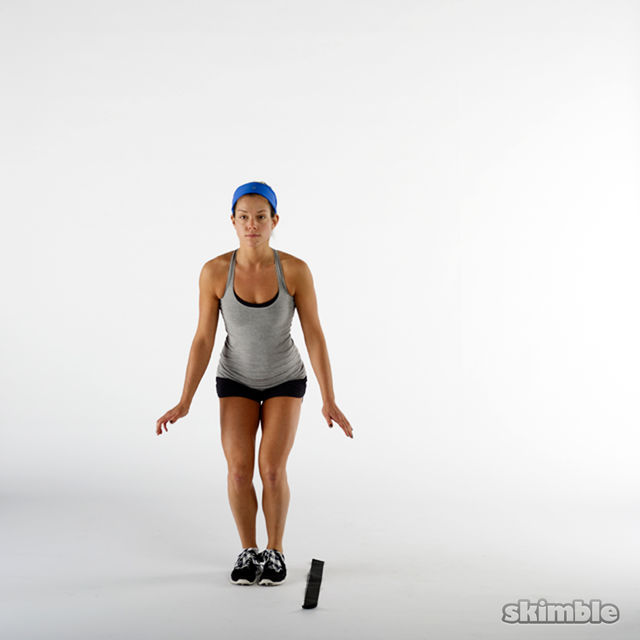 How to do: Side to Side Hops - Step 1