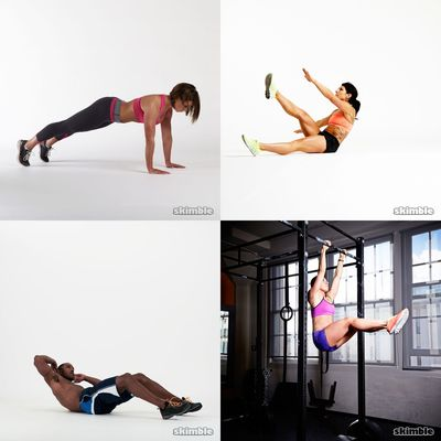 Saturday's Core Workouts
