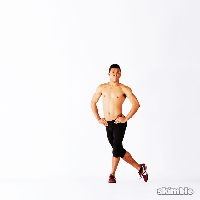 How to do: Dragon Squats - Step 5