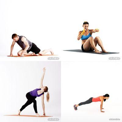Core & Stretching