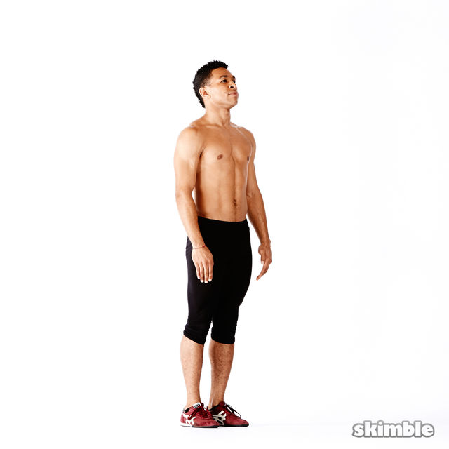 How to do: Narrow Squat Holds - Step 1