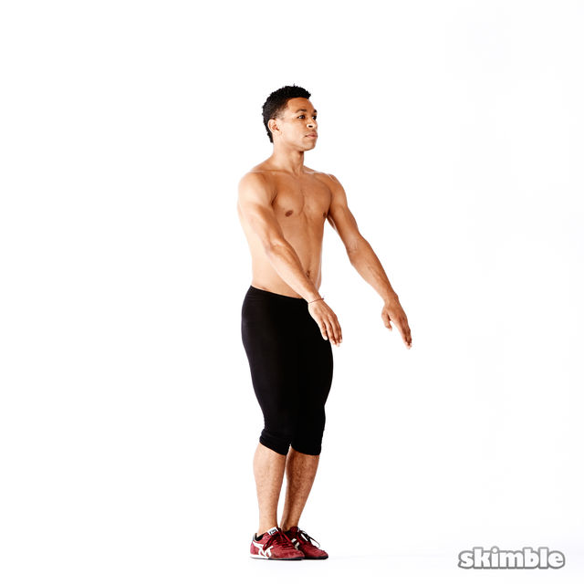 How to do: Narrow Squats - Step 3
