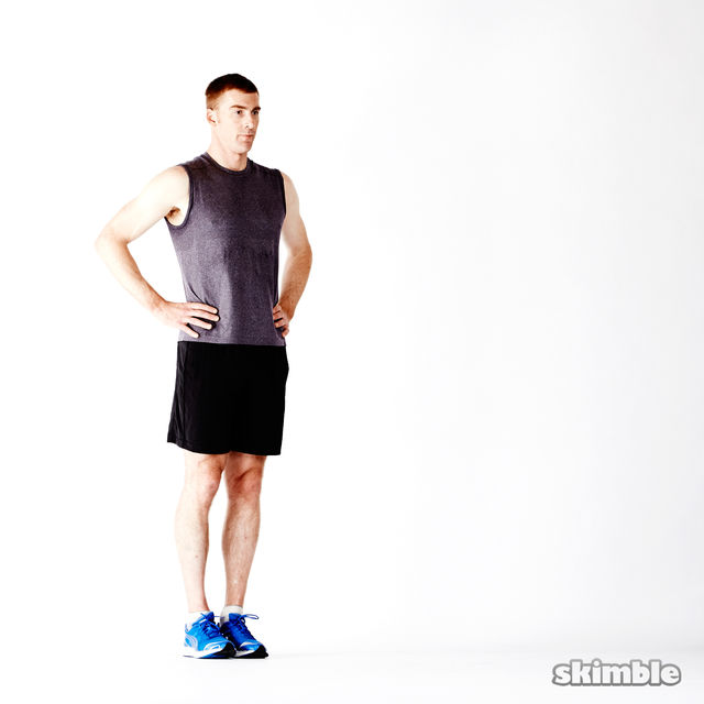 How to do: Deep Lunges - Step 3