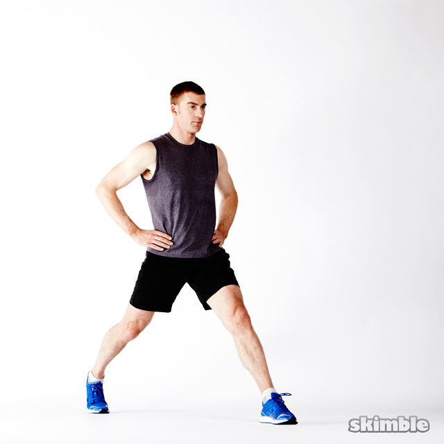 How to do: Dynamic Lunges - Step 6