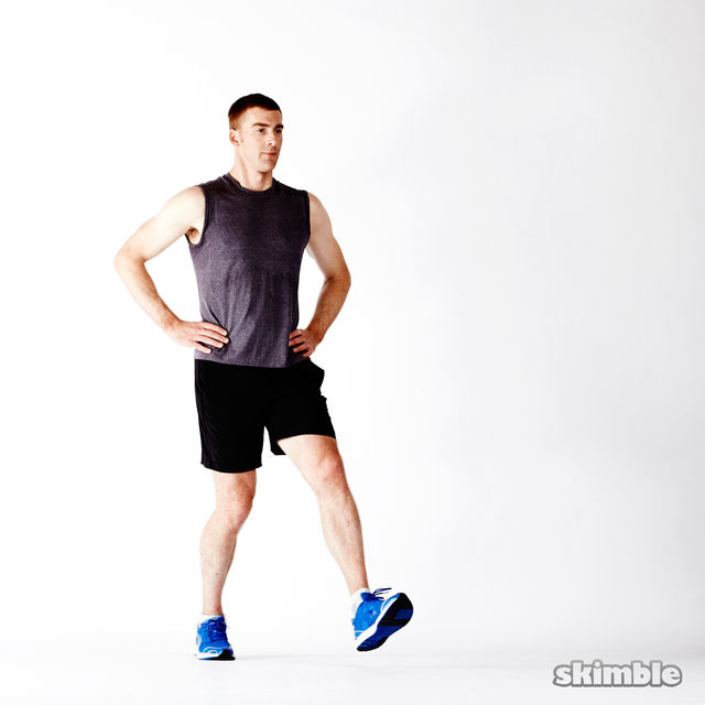 How to do: Dynamic Lunges - Step 2