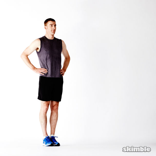 How to do: Deep Lunges - Step 1