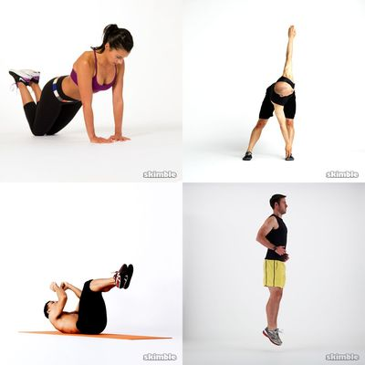 My Workout Regimen