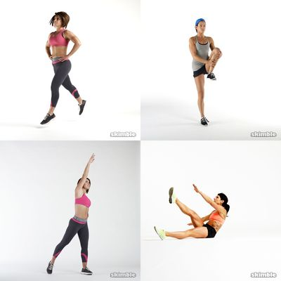 Monday~ cardio, sides, legs