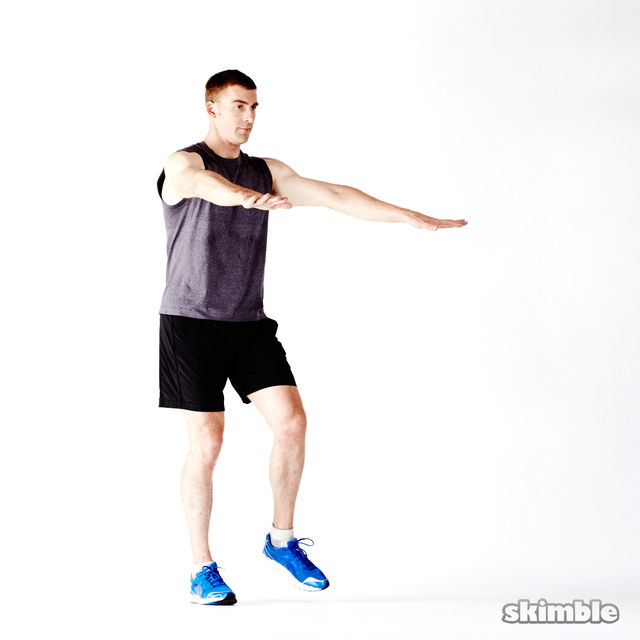 How to do: Glute Twist Lunges - Step 4
