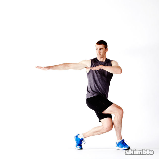 How to do: Glute Twist Lunges - Step 3