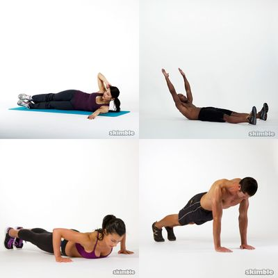 Push up / Abs