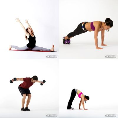 flexibility and arms Workout