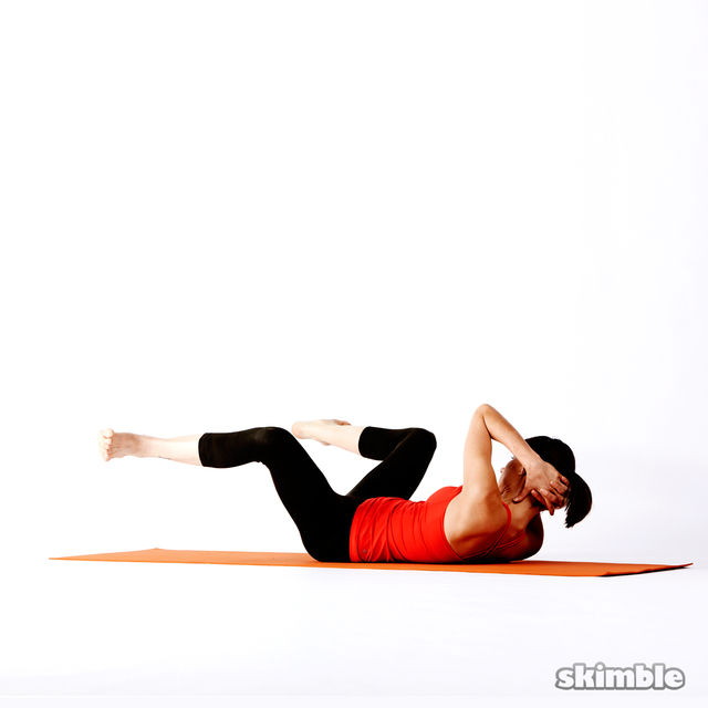 How to do: Twisting Frog - Step 7