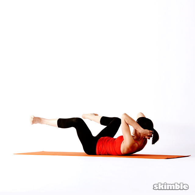 How to do: Twisting Frog - Step 4