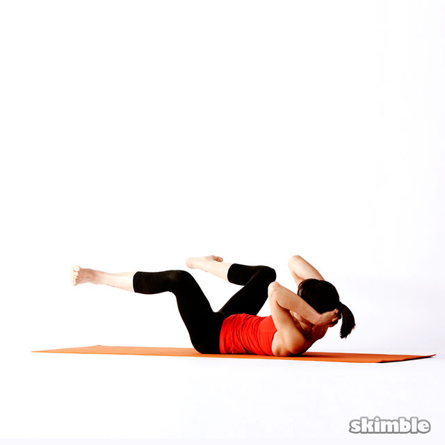How to do: Twisting Frog - Step 3