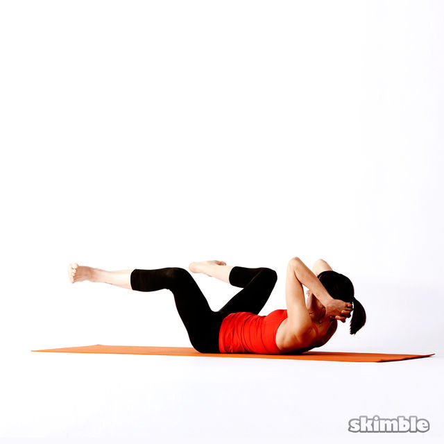 How to do: Twisting Frog - Step 2
